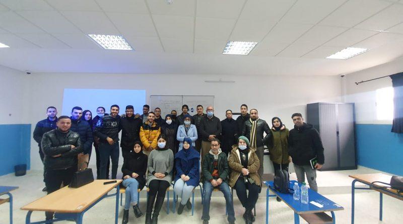 محاضرة تكوينية من تأطير الأستاذ محمد على طبجي، حول: آليات الديمقراطية التشاركية، العرائض نموذجا